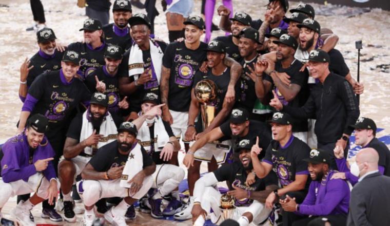 Lakers son los actuales campeones. Foto:EFE