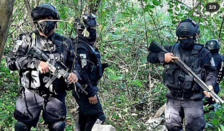 Este año se han incautado fuertes sumas de dinero y armas en caletos en diferentes partes del país.