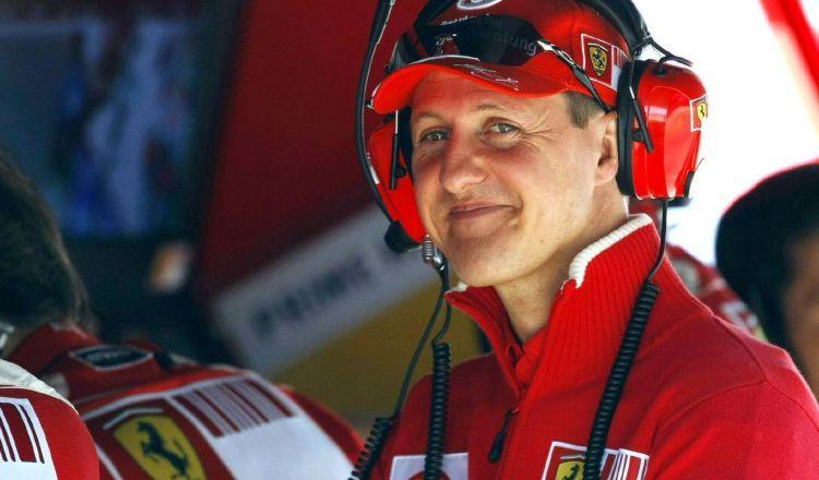Michael Schumacher, piloto de Fórmula Uno. Foto:EFE