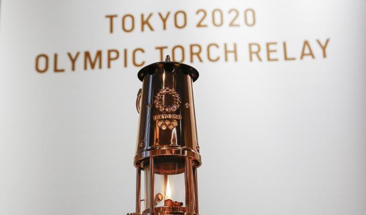 La llama olímpica se mantiene encendida. Foto:EFE