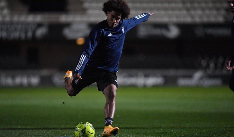 Adalberto 'Coco' Carrasquilla, jugador del Cartagena de España. Foto:Twitter