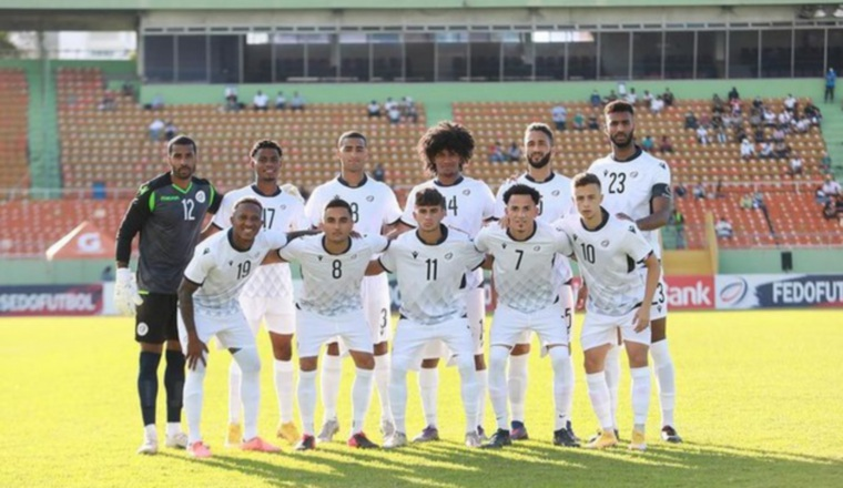 Equipo de República Dominicana. Foto:@fedofutbol