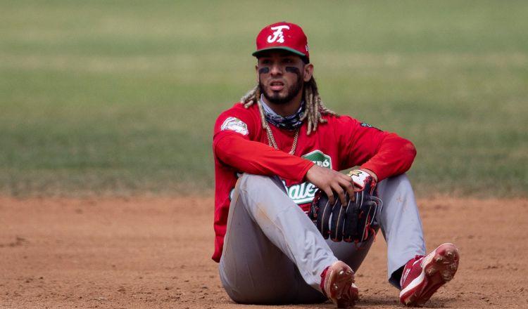 Jonathan Araúz reacciona por la derrota panameña ante Puerto Rico. Foto:EFE