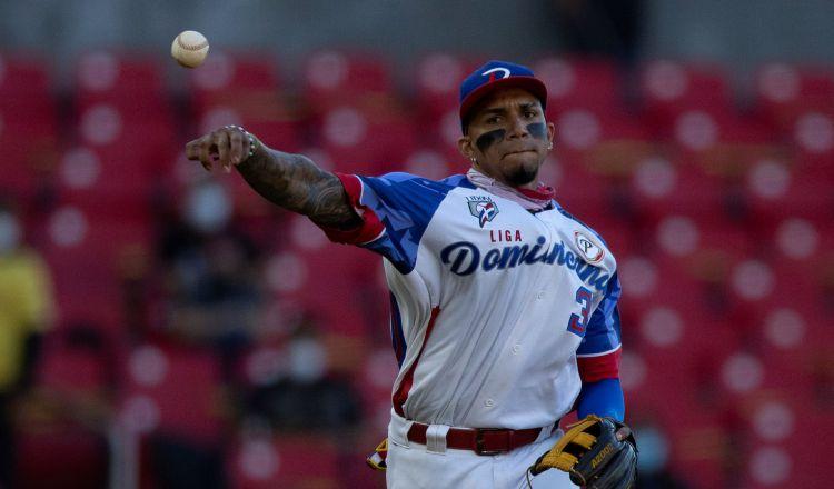 Johan Camargo, panameño que jugó refuerzo para las Águilas. Foto:EFE