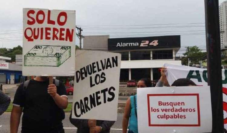 Los extranjeros en Panamá han realizado varias protestas públicas.