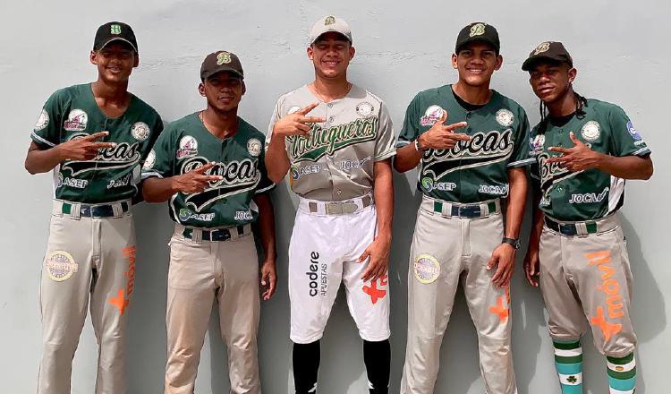 Jugadores del equipo de Bocas del Toro. Foto: Fedebeis