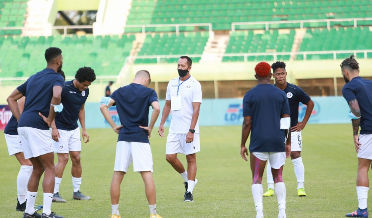 El equipo de República Dominicana se impuso a Dominica. Foto:Twitter