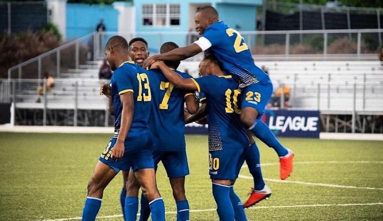 Jugadores de Barbados. Foto:Twitter