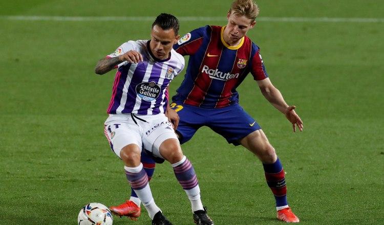Barcelona vence a Valladolid por 1-0. Foto:EFE