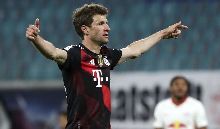 Thomas Müller es un referente del Bayern Munich. Foto:EFE