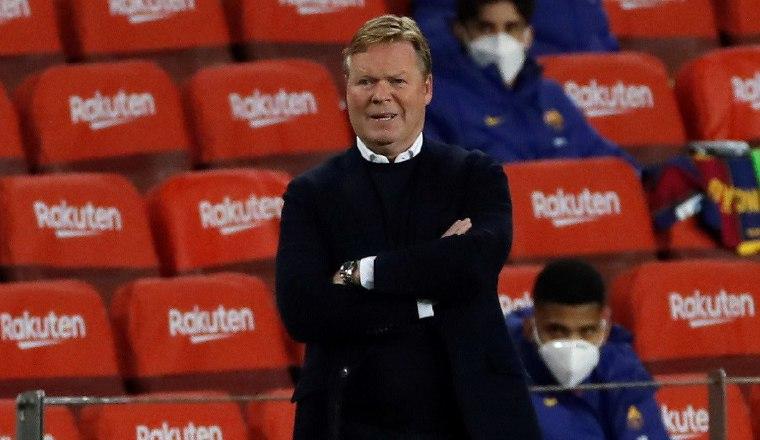 Ronald Koeman, técnico del Barcelona Foto:EFE