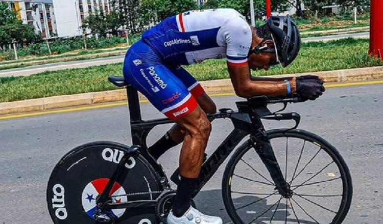 Christofer Jurado sufrió una caída, pero no tiene fracturas, solo escoriaciones y alguna contusiones. Foto:@cristoffjurado