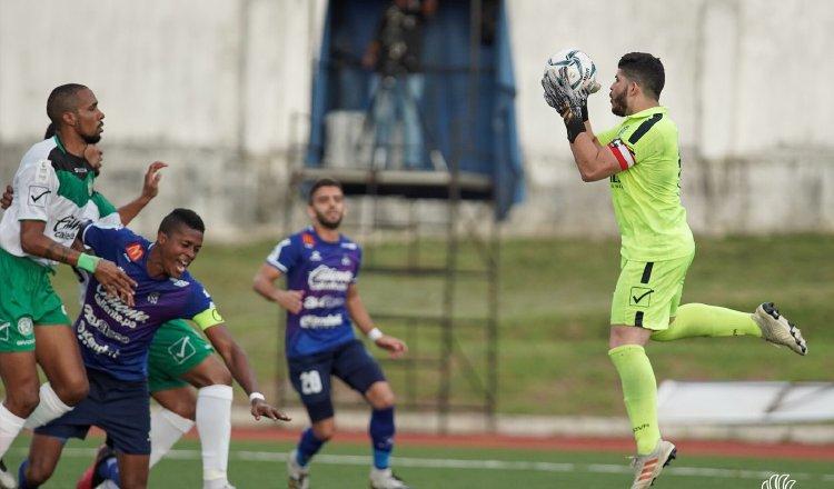 Alianza logró su primer triunfo en el estadio Omar Torrijos. Foto:LPF