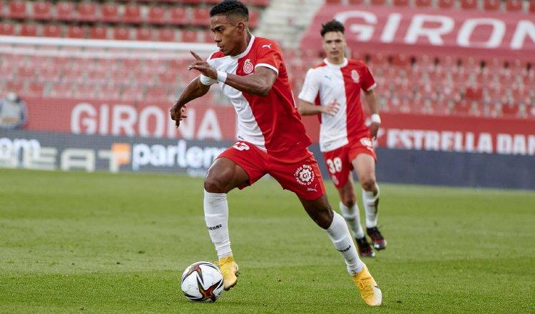 Édgar Yoel Bárcenas jugador del Girona. Foto:Twitter