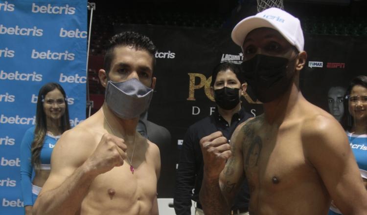 Antonio Tostado (izq.) y Anselmo