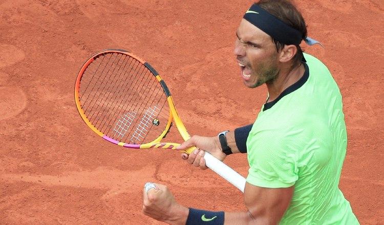 El tenista español Rafael Nadal. Foto:EFE