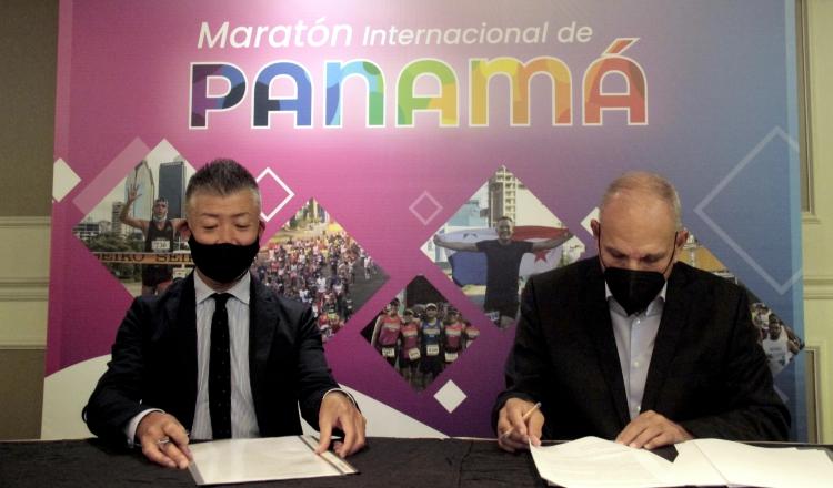 Fumio Tanaka, presidente de Seiko Panamá y Gregorio