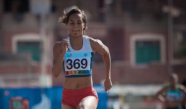 Nathalee Aranda participará en salto largo. Foto:@njar22