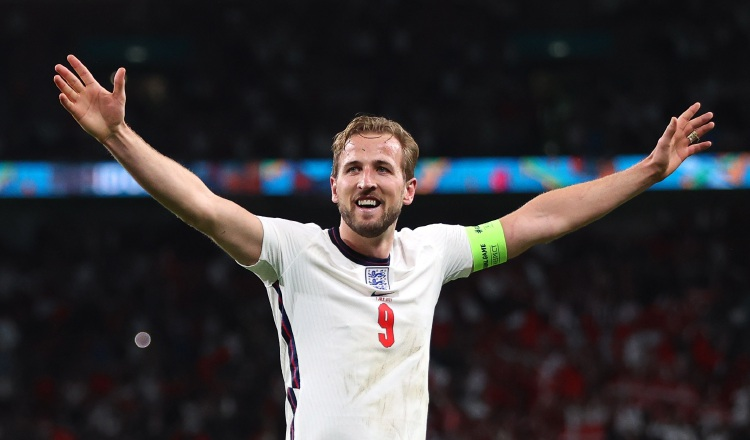 Harry Kane de Inglaterra. Foto:EFE