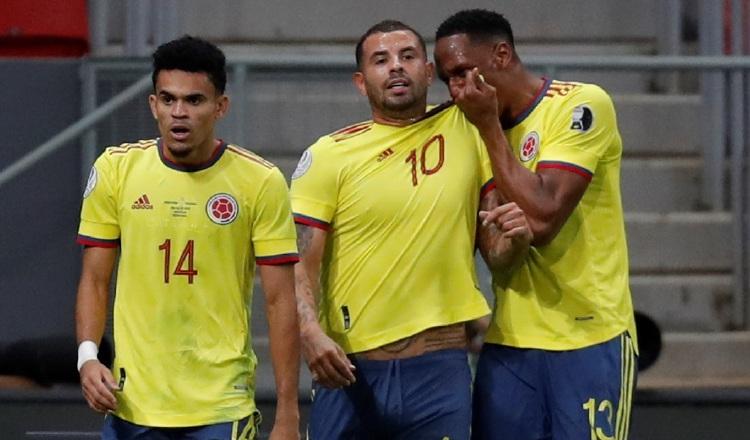 Jugadores de la selección colombiana Foto:EFE
