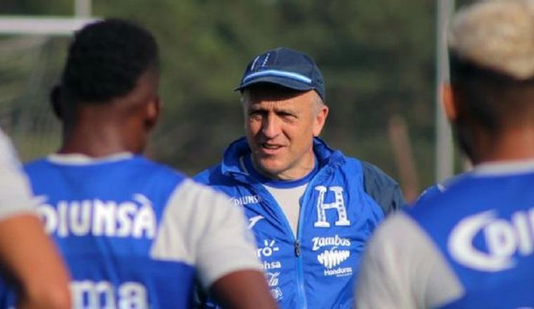 Fabián Coito, técnico de Honduras. Foto:@fenafuth