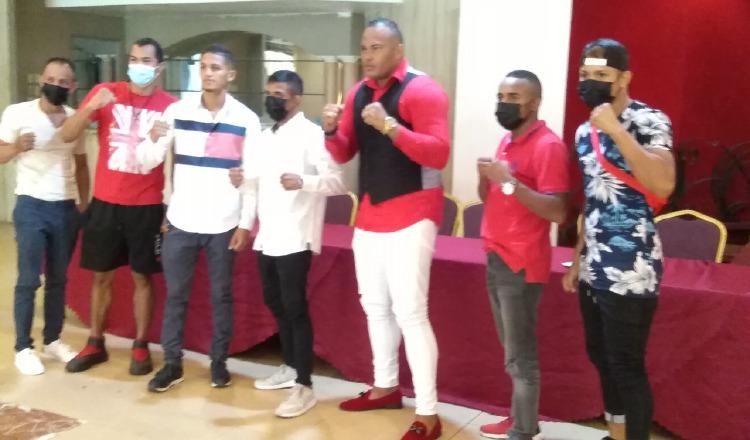 Boxeadores que tendrán acción este viernes en la cartilla de Master Promotions Foto: Cortesía