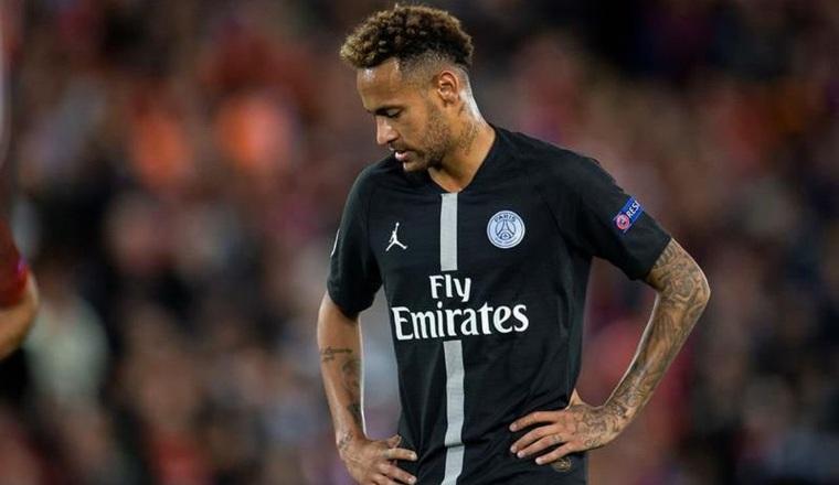 Neymar jugador del PSG de Francia Foto:EFE
