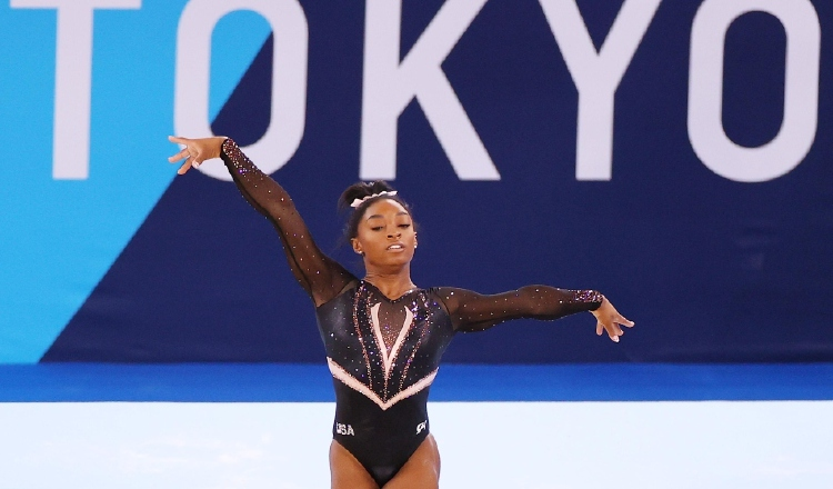 Simone Biles, atleta de Estados Unidos. Foto:@TeamUSA