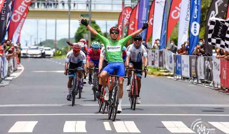 Franklin Archibold se ganó la segunda etapa. Foto:Fepaci