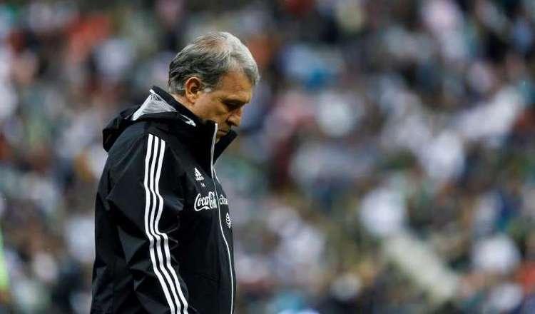 Gerardo 'Tata' Martino, técnico de México. Foto:EFE