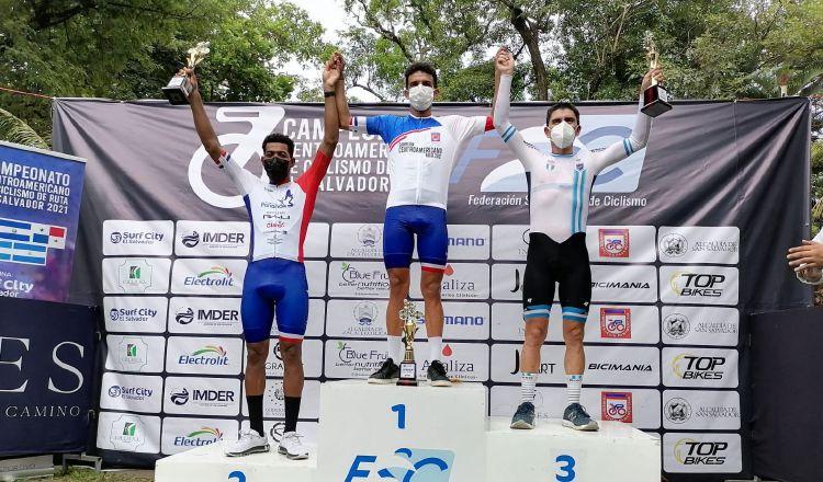 Panamá se alzó con oro y plata la prueba de relojeros en el Campeonato Centroamericano de Ciclismo. Foto: @Fepaci