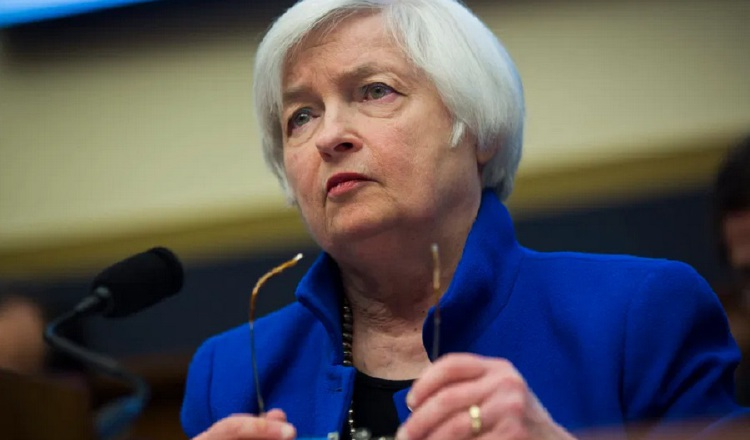 Janet Yellen, secretaria del Tesoro de los Estados Unidos. EFE