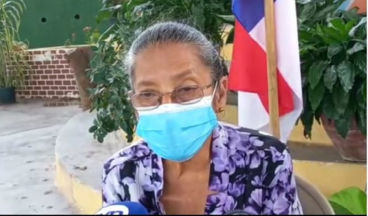 Maritza Maestre, coordinadora del comité de familiares. Internet