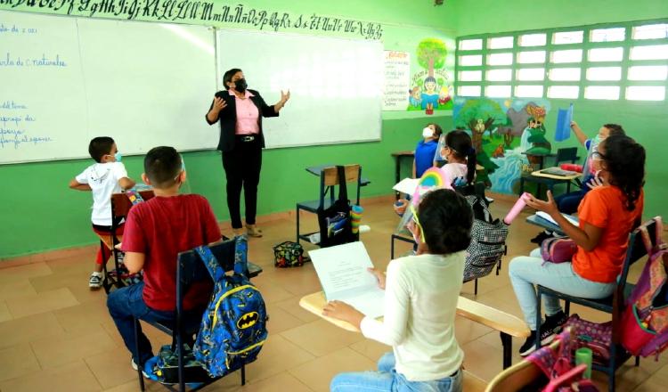 Hasta ahora no ha habido reportes de contagios por Covid-19 en ningún centro educativo. Foto: Meduca
