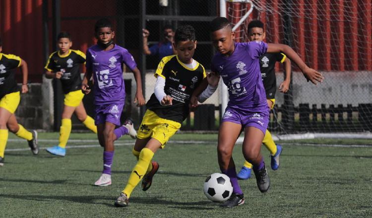 Torneo de Valores  se realiza en la cancha de CAI Sport Center. Foto: Cortesía