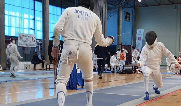 Arturo Dorati Ameglio, entrena con el equipo de España en la ciudad de Madrid. Cortesía