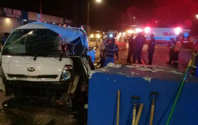46 mil accidentes de tránsito en el 2018. Foto/@TráficoCPanamá