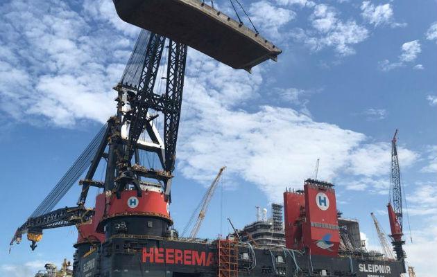 El buque está clasificado por Lloyds Register of Shipping y fue registrado en Panamá. Foto/Cortesía AMP