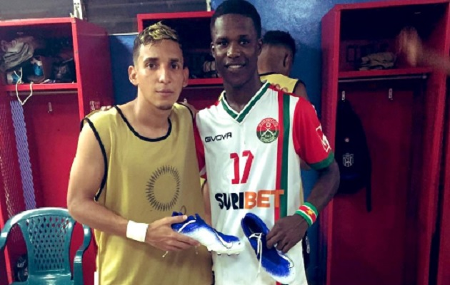 Omar Córdoba dejó a un lado la rivalidad.