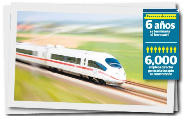 El ferrocarril, que aún no se sabe si se llevará a cabo, viajaría a una velocidad de hasta 160 kilómetros por hora