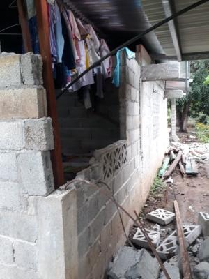 Varias viviendas se encuentran en mal estado. Foto/Mayra Madrid