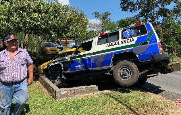 El accidente de tránsito se registró la mañana de este lunes en Chiriquí.