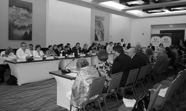 La Concertación Nacional para el Desarrollo se mantiene en sesión.