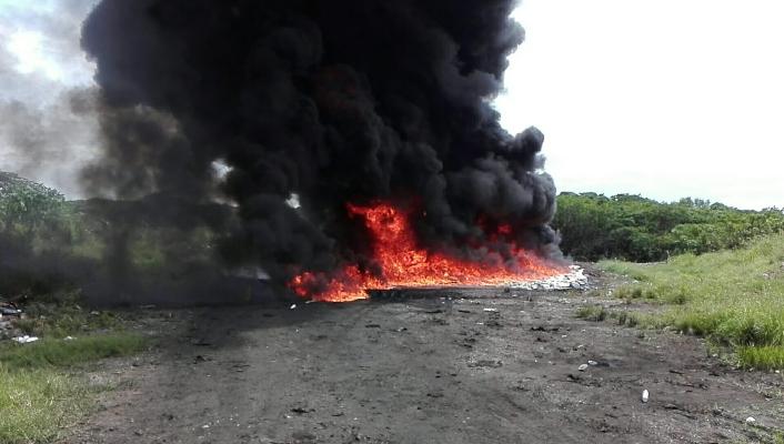 A criterio del representante de Playa Leona el Gobierno debe considerar otras medidas menos contaminantes al ambiente, entre ellas la contratación de empresas especializadas en la incineración de las drogas. Foto/Eric Montenegro
