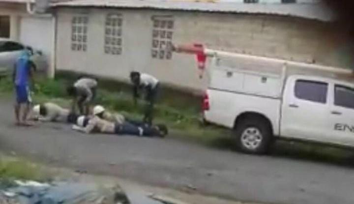 El robo a los trabajadores de Ensa fue en el sector de Villa Caribe, en la provincia de Colón.