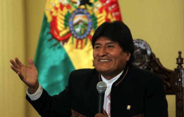Presidente Evo Morales. Foto: EFE