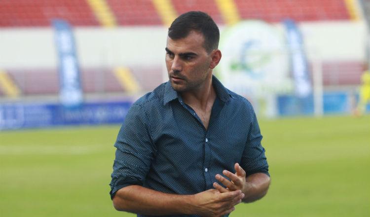 Patricio Sampó, ex técnico del Atlético Chiriquí. Foto Anayansi Gamez