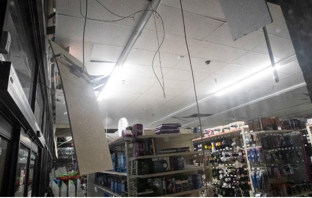 El Departamento de Bomberos del condado de San Bernardino informó a través de Twitter que el sismo produjo