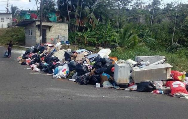 Se ha duplicado la proliferación de basura. Foto: Diómedes Sánchez.