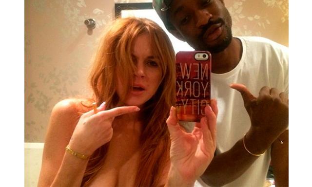 Lindsay Lohan arruinó una boda, desnuda y drogada -
